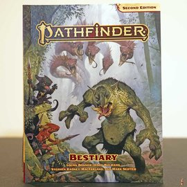 Pathfinder Second Edition: Bestiary Pocket