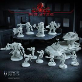 Verge of War Space Pirates Faction Box