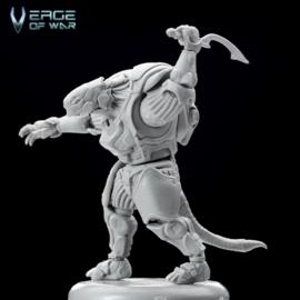 Verge of War Shork Tribal Warrior Free-Pose