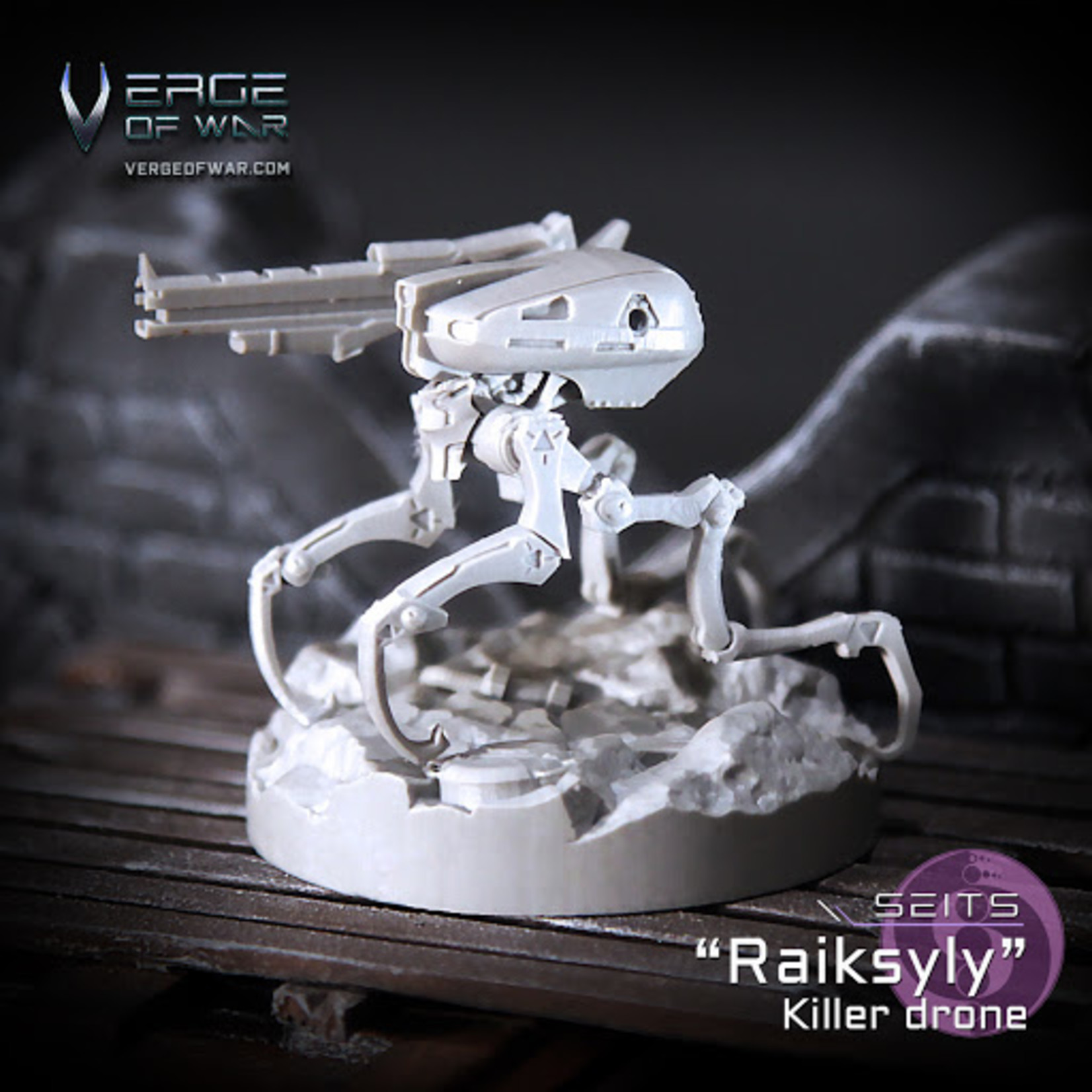 "Verge of War Killer Drone ""Raiksyly"""