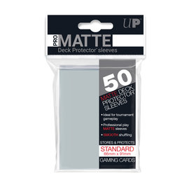 Ultra Pro Deck Protectors: Pro-Matte Sleeves (50 ct) Clear