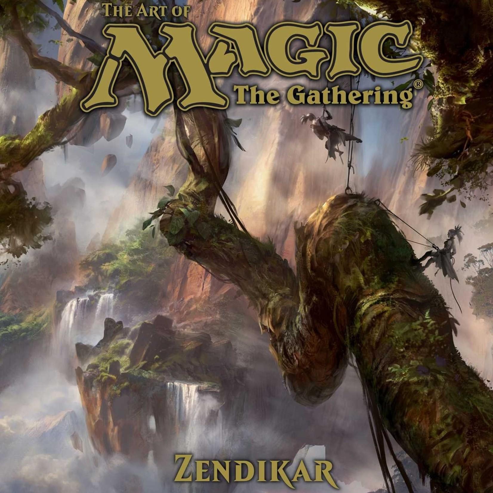Viz Media Art of Magic The Gathering: Zendikar