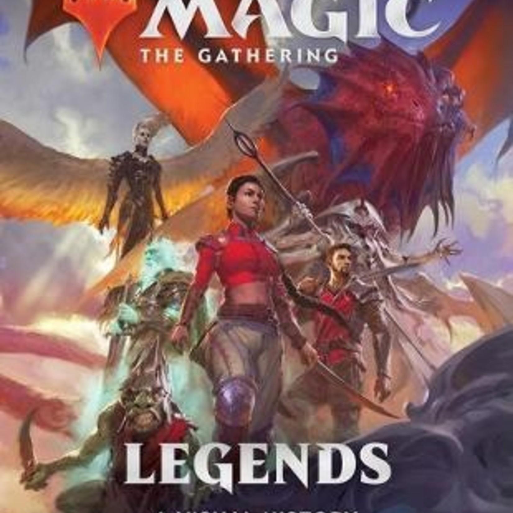 Viz Media Art of Magic The Gathering: Concepts & Legends