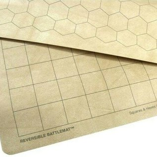 Chessex Chessex: Reversible Battlemat (1.5'' Sq & 1.5'' Hex)