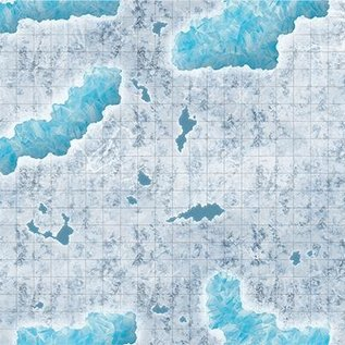 """Gale Force 9 Caverns of Ice Map 20""""30"""""""