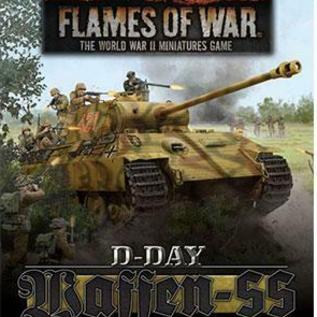 Flames of War D-Day: Waffen-SS Unit Cards