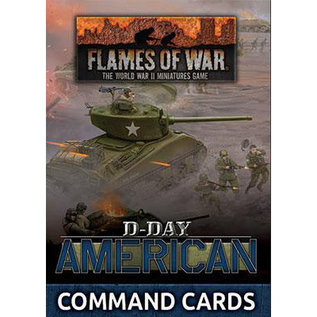 Flames of War D-Day American Command Cards
