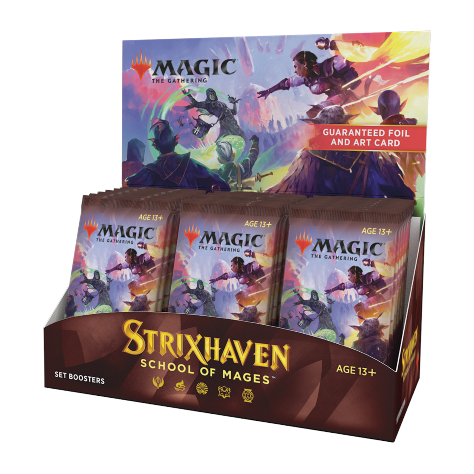 Wizards of the Coast Strixhaven Set Booster Box Display
