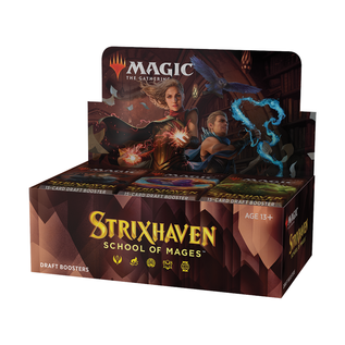 Wizards of the Coast PREORDER - Strixhaven Draft Booster Box Display (April 23rd 2021)