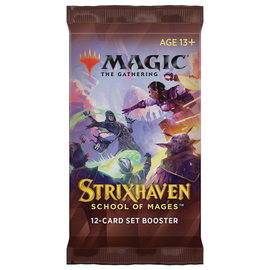 Wizards of the Coast PREORDER - Strixhaven Set Booster Pack (April 23rd 2021)