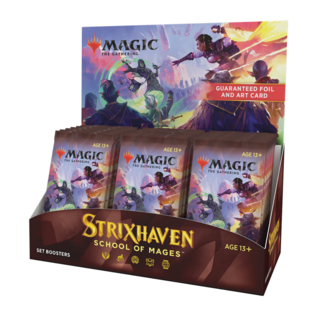 Wizards of the Coast PREORDER - Strixhaven Set Booster Box Display (April 16th 2021) [Early Sale Promotion]