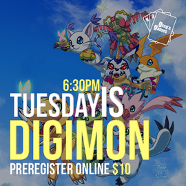 Digimon TCG -  Tuesday May 18th 6:30 PM