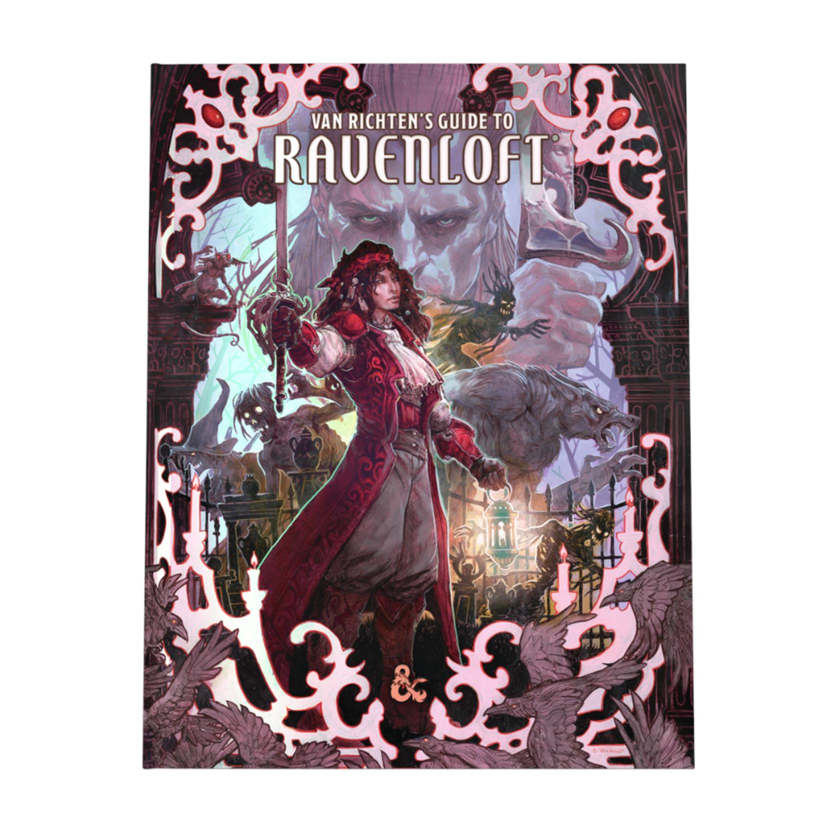 Wizards of the Coast D&D Van Richten's Guide to Ravenloft, Alternate Cover