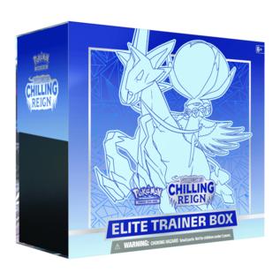 Pokémon PREORDER - Chilling Reign Elite Trainer Box (June 18th, 2021)