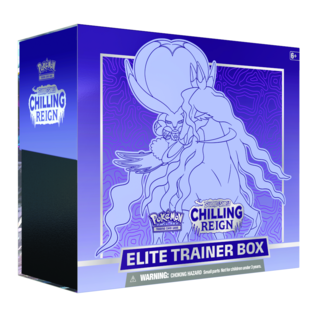Pokémon PREORDER - Chilling Reign Elite Trainer Box (June 18th, 2021)