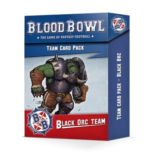 Games Workshop Black Orc Team Card Pack
