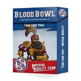 Games Workshop Imperial Nobility Card Pack