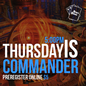 MTG Commander Seat Reservation - Thursday June 10th