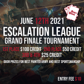 Escalation League Grand Finale Tournament - June 12th, 2021