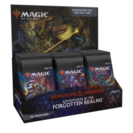 Wizards of the Coast PREORDER - Adventures in the Forgotten Realms Set Booster Box Display (July 16th, 2021)  [Early Sale Promotion]