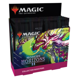 Wizards of the Coast Modern Horizons 2 Collector Booster Box Display