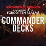 Wizards of the Coast Adventures in the Forgotten Realms Commander Decks