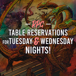 RPG Table Reservation