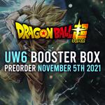 Bandai PREORDER - Unison Warrior 6 Booster Box Display (November 5th 2021) (Set 15)