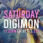 Saturday Digimon TCG - October 2nd 11 AM