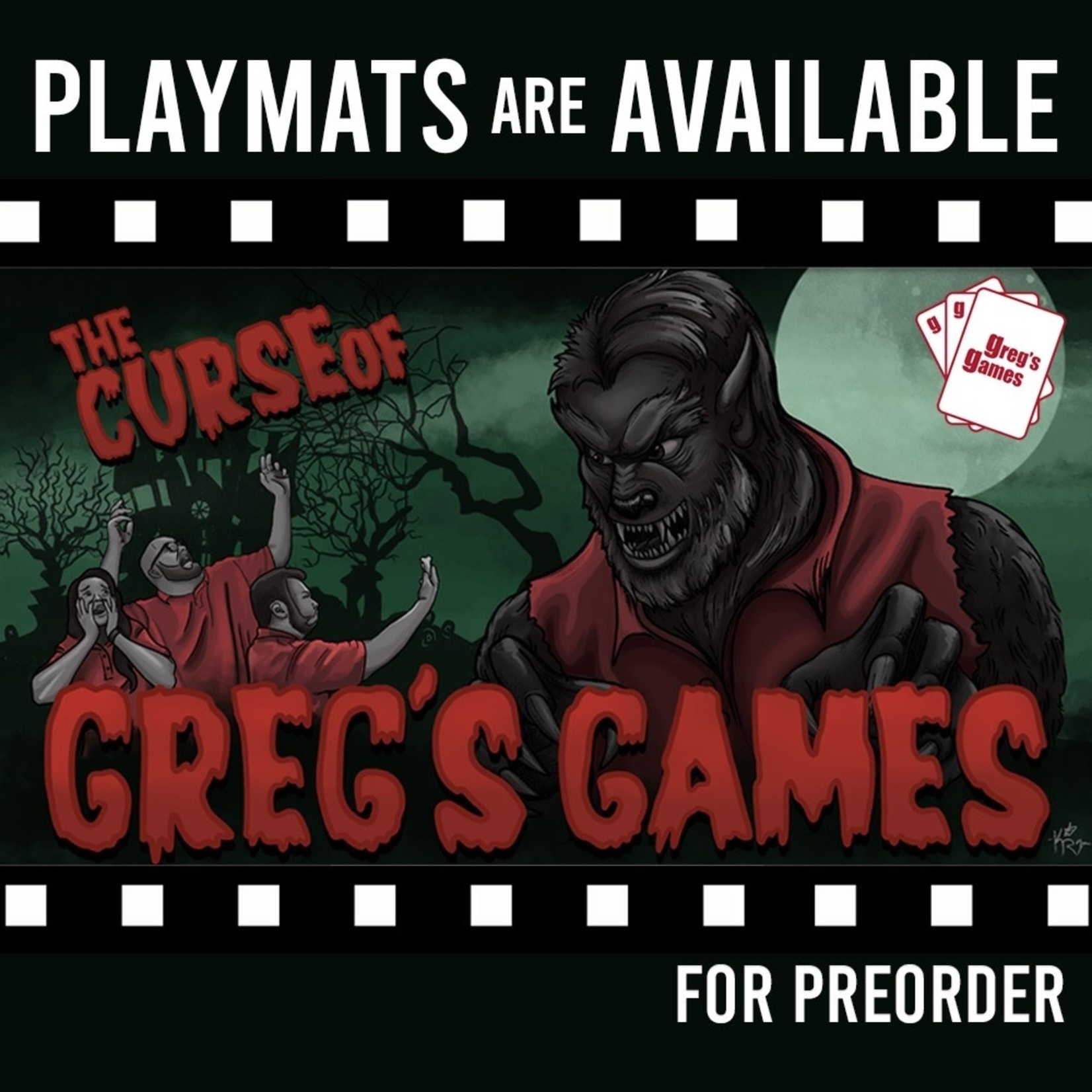 Greg's Games Playmat Series: The Curse of Greg's Games