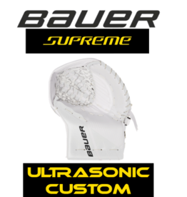 Bauer SUPREME ULTRASONIC GOALIE CATCH GLOVE