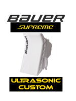 Bauer Supreme Ultrasonic Goalie Blocker