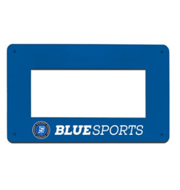 Blue Sports Rectangular Passer