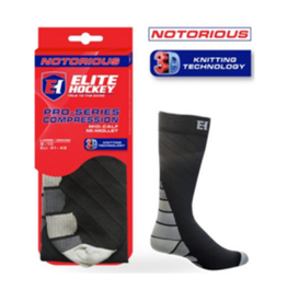 Icon-Elite Notorious Pro Skate Socks Mid calf