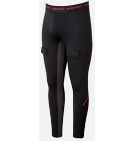 Bauer Essential Compression Jock Pants Senior