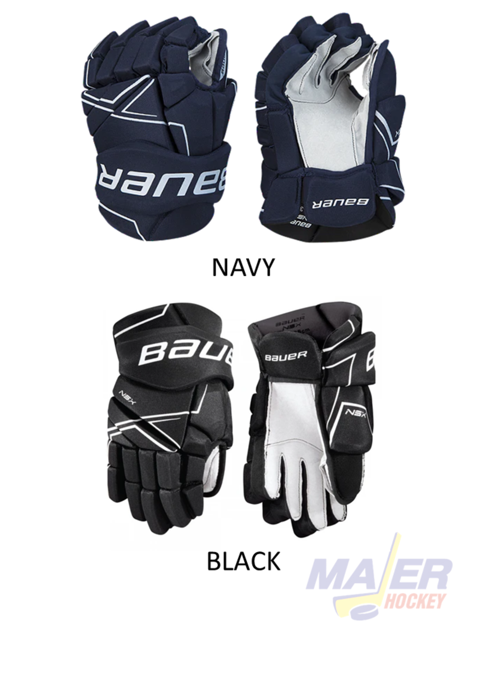 Bauer NSX Junior Hockey Gloves