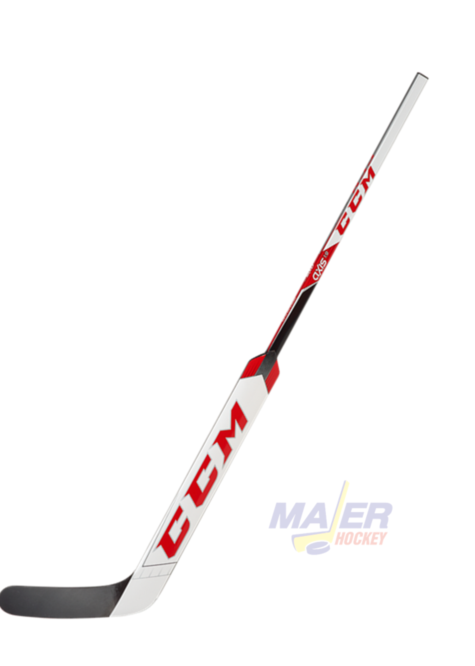 CCM Axis 1.9 Int Goalie Stick - White/Red