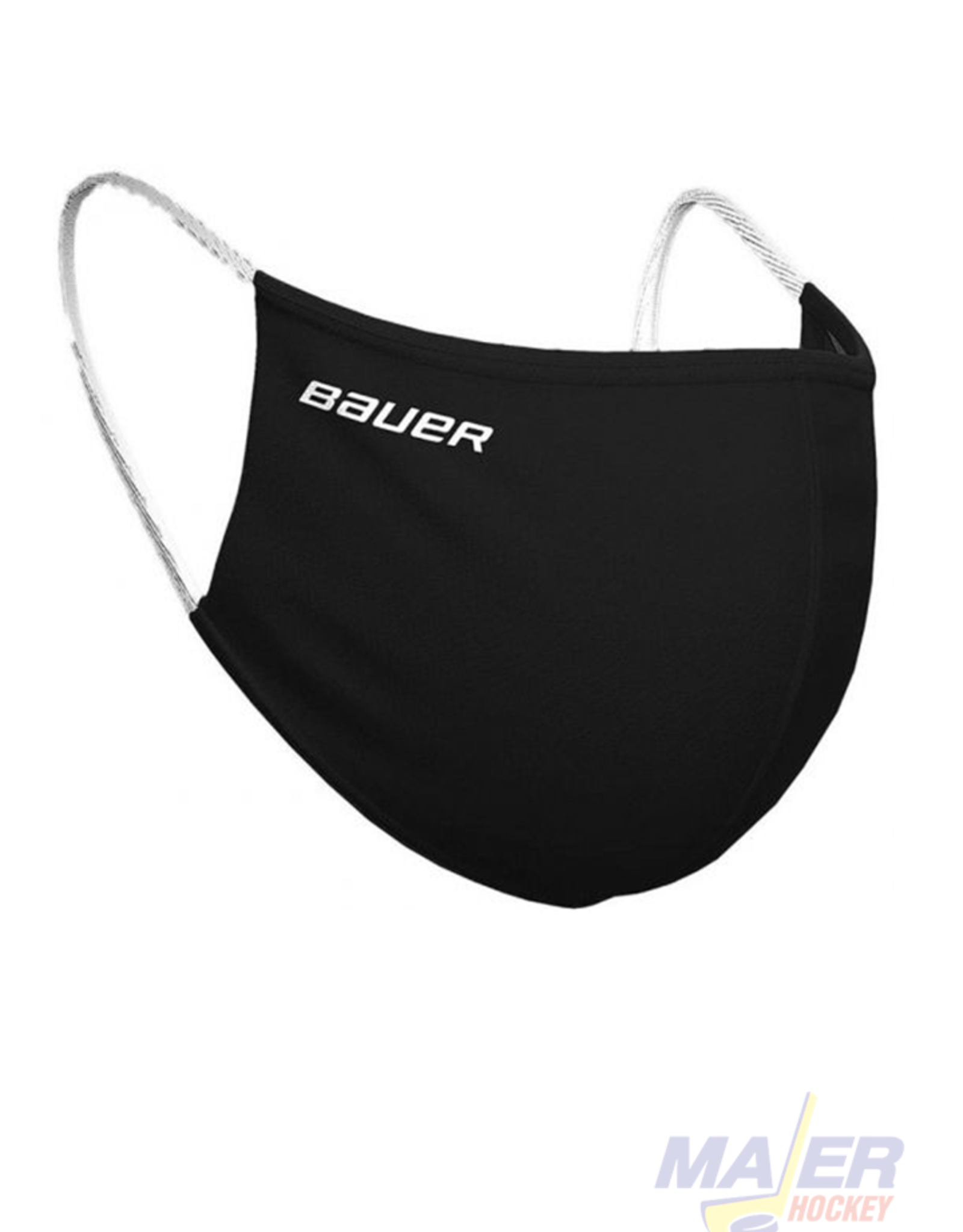 Bauer Reversible Fabric Facemask - BLACK