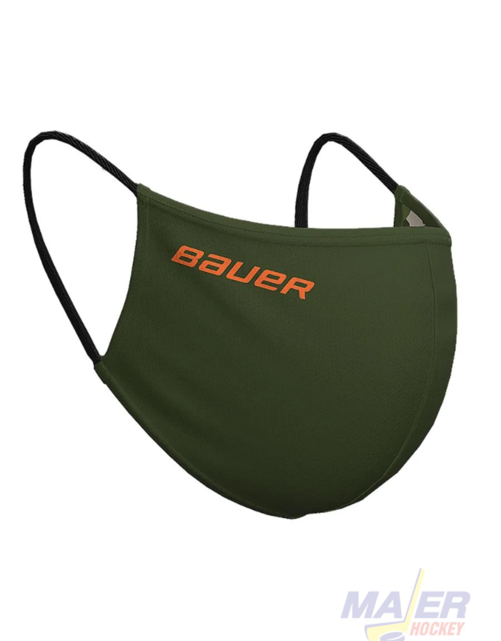 Bauer Reversible Face Mask - GREEN/CAMO