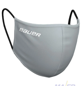 Bauer Reversible fabric Face Mask - GREY/CAMO