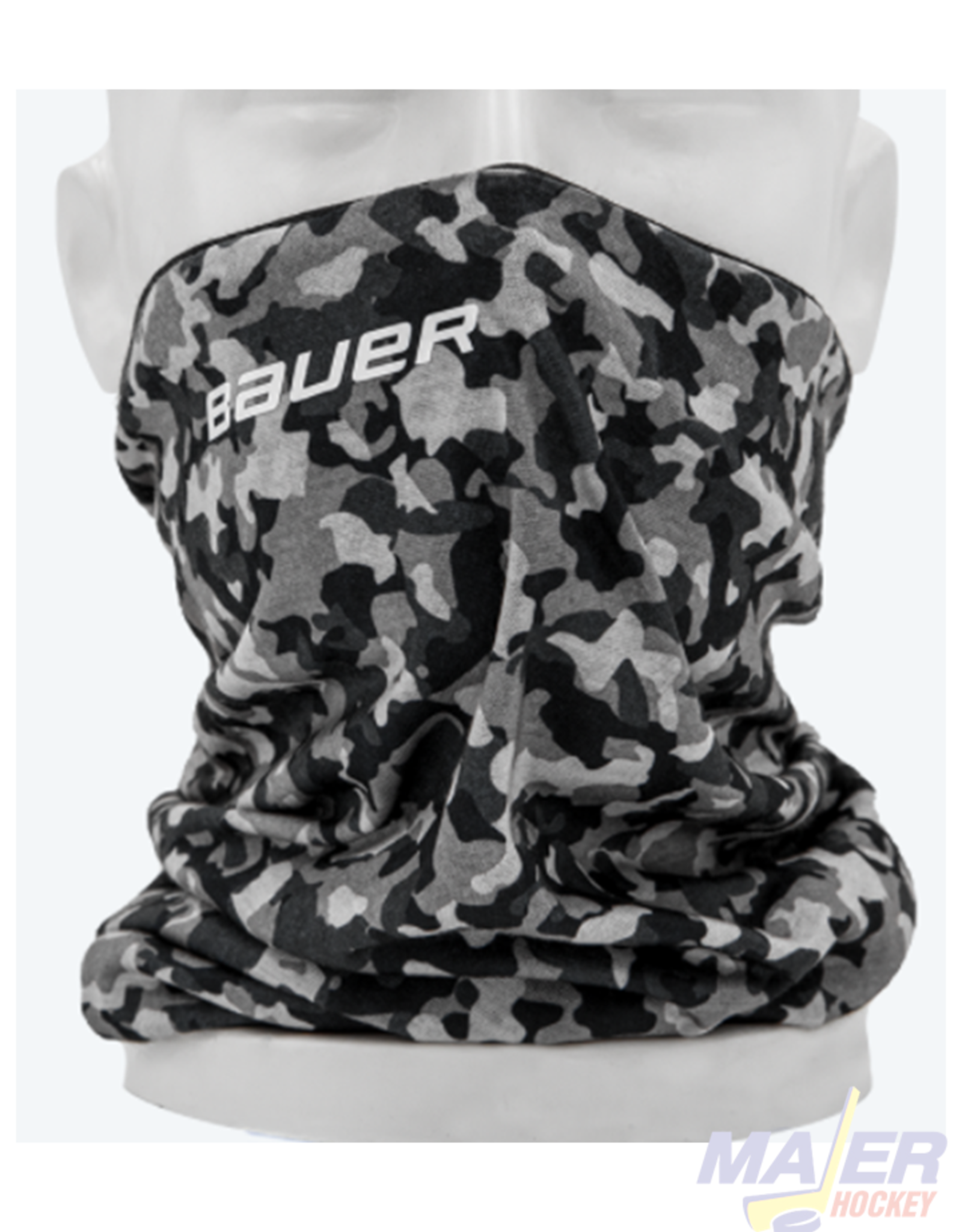 Bauer Reversible Fabric Gaiter Face Mask  - BLACK/CAMO