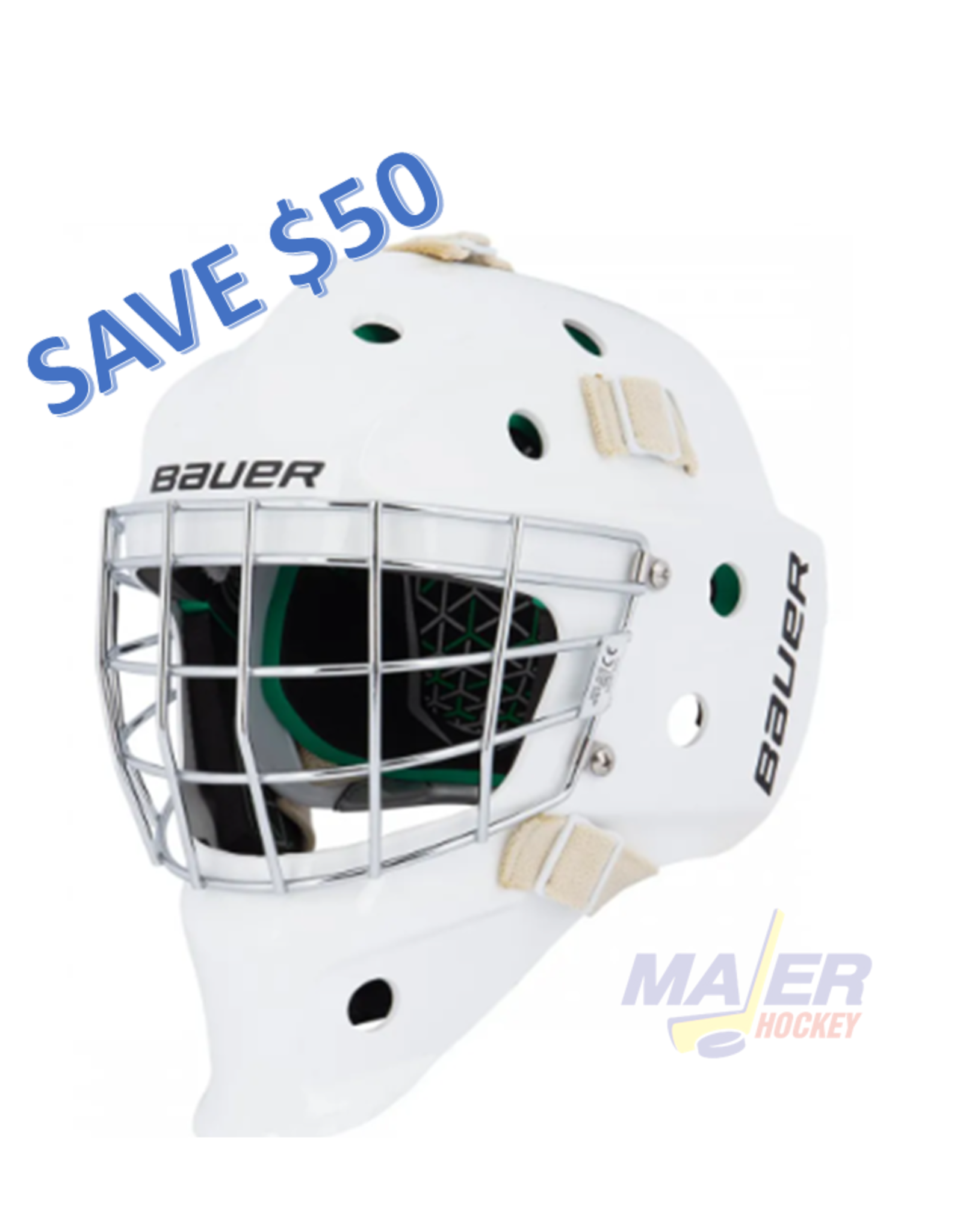 Bauer NME4 Junior Goalie Mask