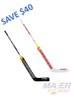 Warrior Ritual V1 SR+ Senior Goalie Stick - left