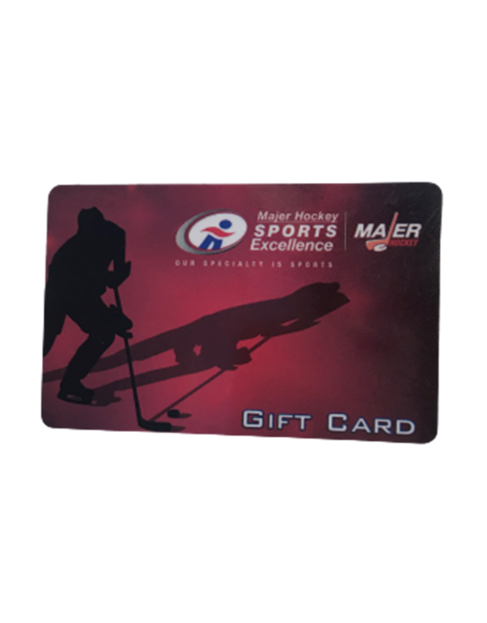 Majer Hockey Gift Card