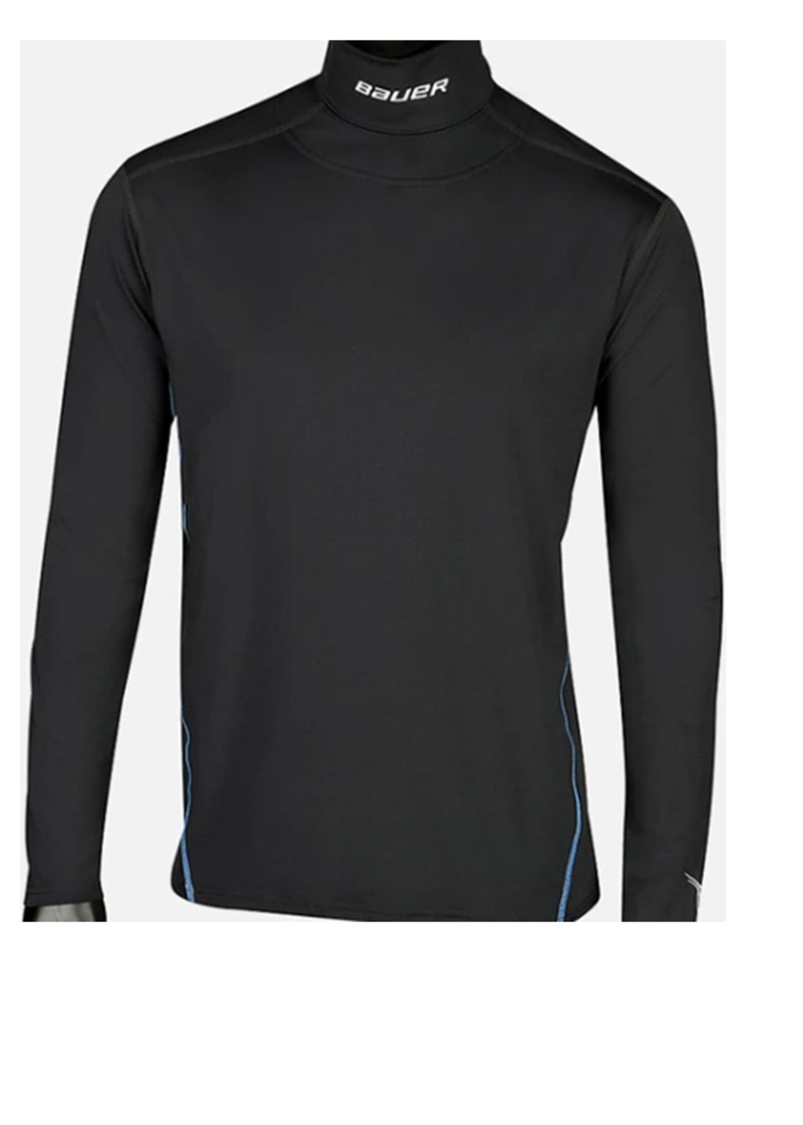 Bauer Senior Long Sleeve Neckprotect Shirt