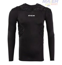 CCM Sr. Padded Player Long Sleeve Shirt