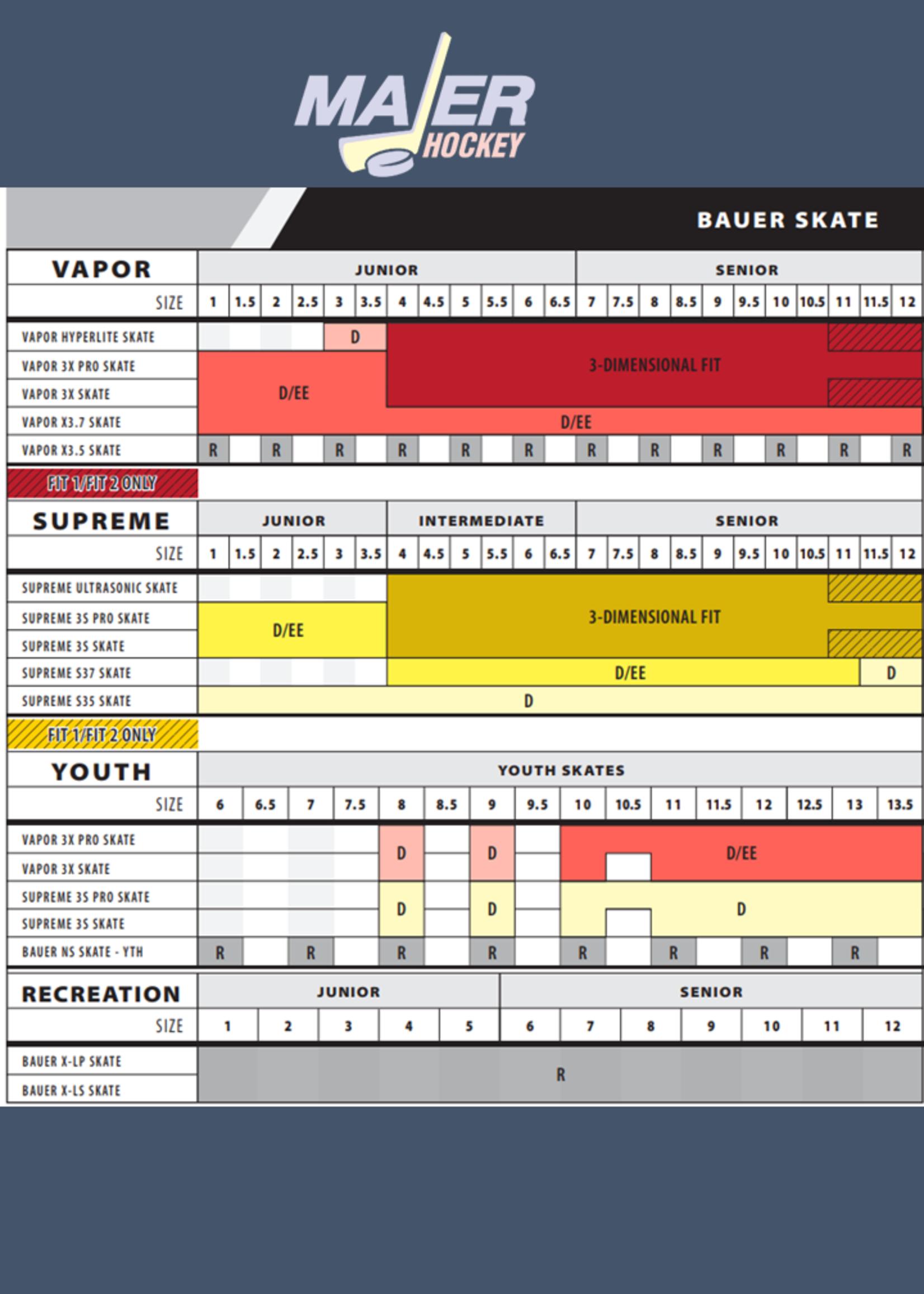 Bauer Vapor 3X Pro Youth Skates