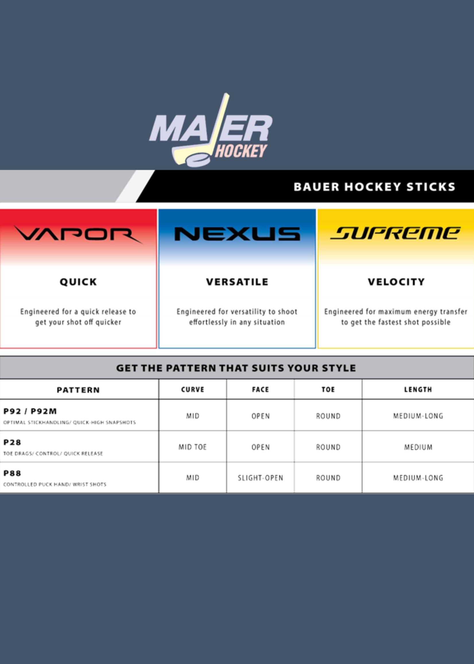 Bauer Vapor Hyperlite Jr Stick 30 Flex