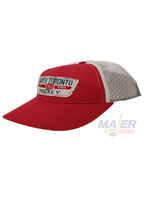 Majer Hockey North Toronto Trucker Hat - Red