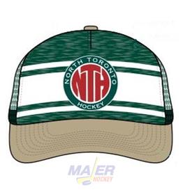 Majer Hockey North Toronto Trucker Hat - Green/Cream